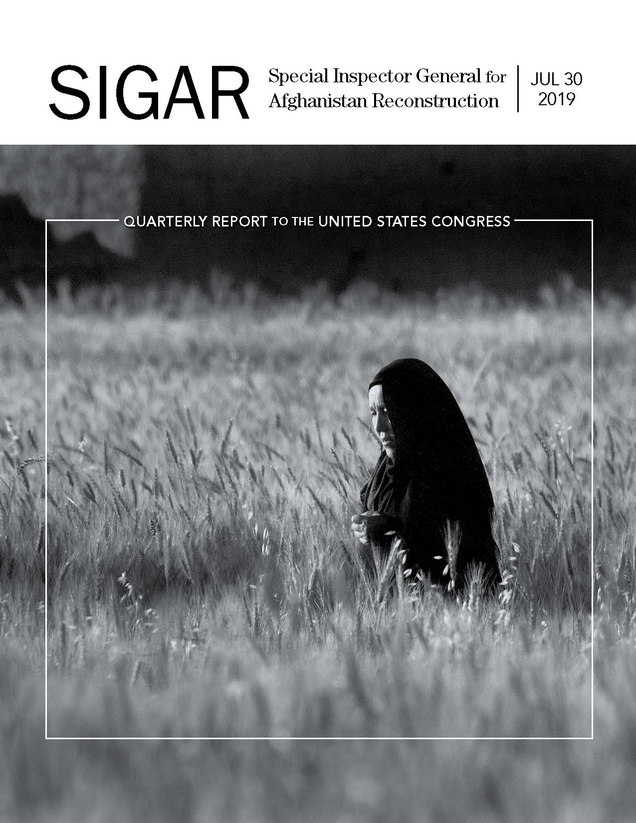 SIGAR | Quarterly Reports