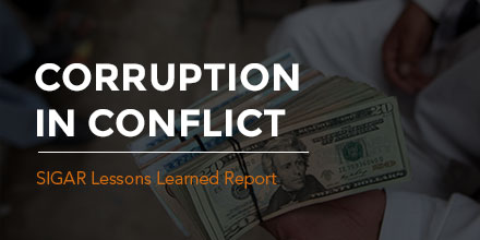 INTERACTIVE REPORT - Corruption in Conflict: Lessons from the U.S. Experience in Afghanistan