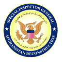 Special Inspector General for Afghanistan Reconstruction Seal