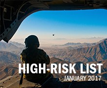 SIGAR's High-Risk List highlights the greatest threats facing the US reconstruction effort in Afghanistan for the incoming Administration and the 115th Congress.